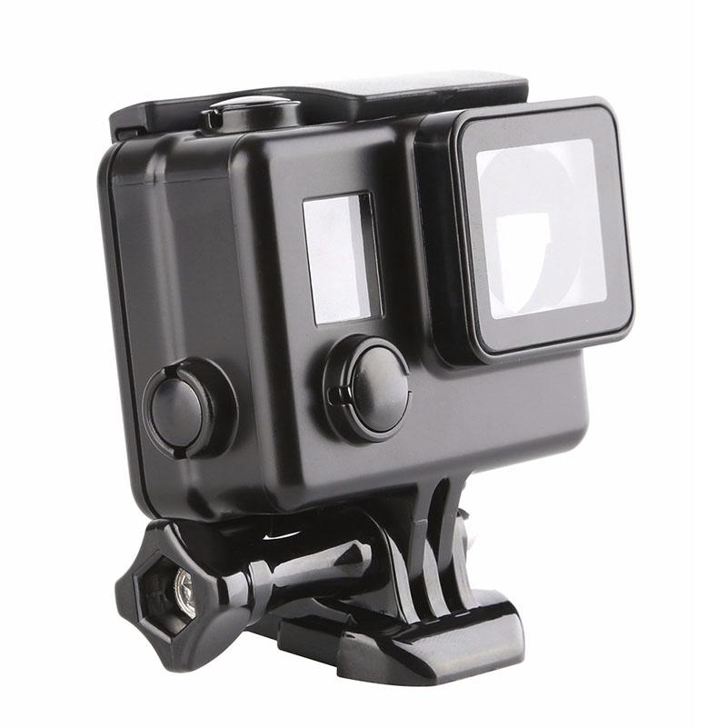 Caixa Estanque - GoPro Hero3+ e Hero4 - Skeleton - Preta