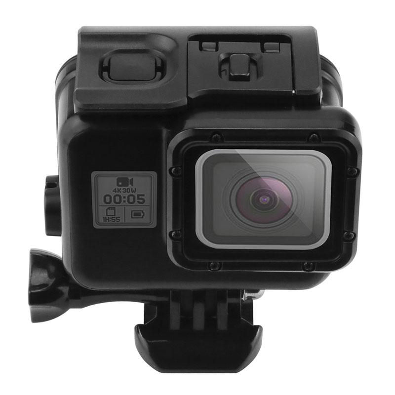 Caixa Estanque - GoPro Hero5 Hero6 Hero7 Black - Mergulho - 45 Metros - Preta