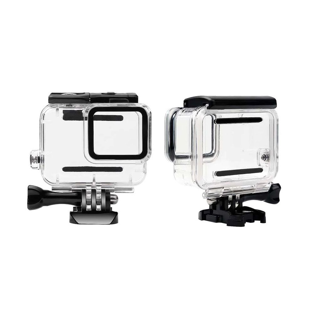 Caixa Estanque - GoPro Hero7 White e Silver - Mergulho - 45 Metros - Telesin