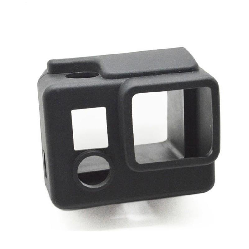 Capa Protetora de Silicone - Caixa Estanque Gopro Hero3+ Hero4