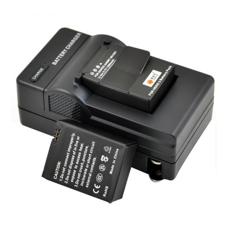Carregador GoPro Hero3 - Parede e Veicular - AHDBT-201/301