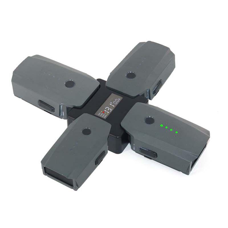 Carregador de Baterias 4 em 1 - Drone DJI Mavic Pro