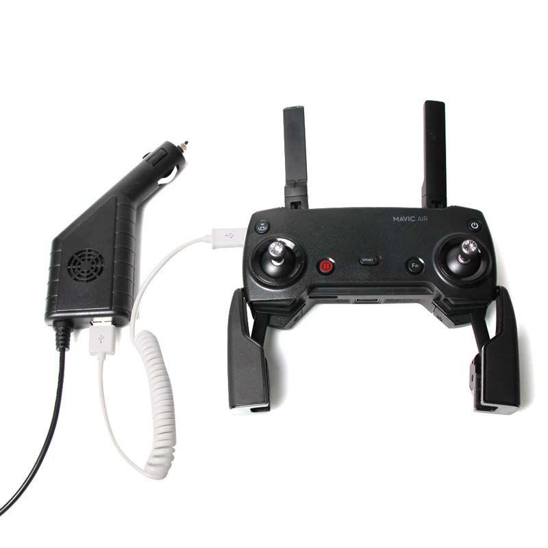 Carregador Veicular de Bateria e Controle - Drone DJI Mavic Air