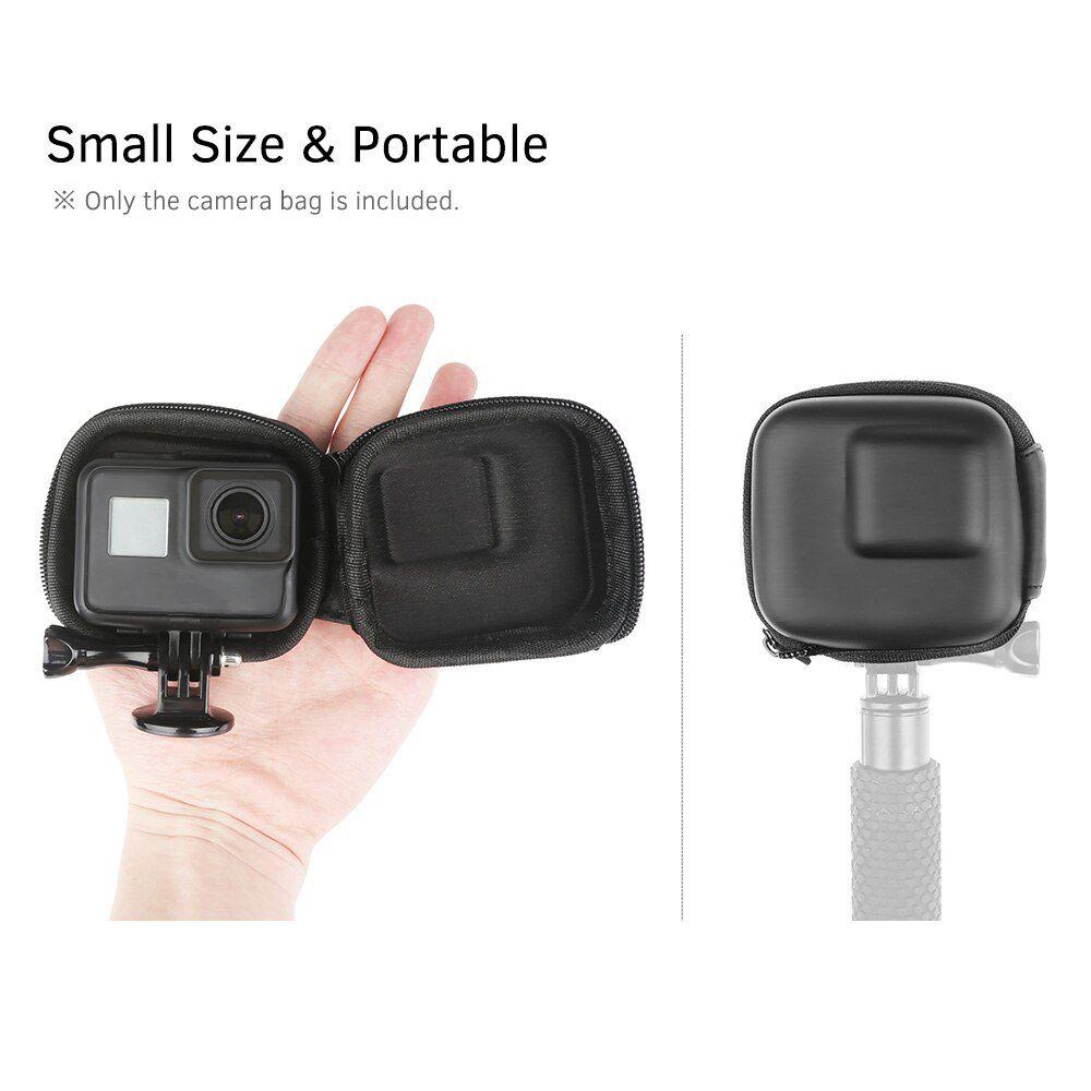 Case de Transporte e Proteção Mini - Abertura Inferior - GoPro SJCAM Eken 4K Yi