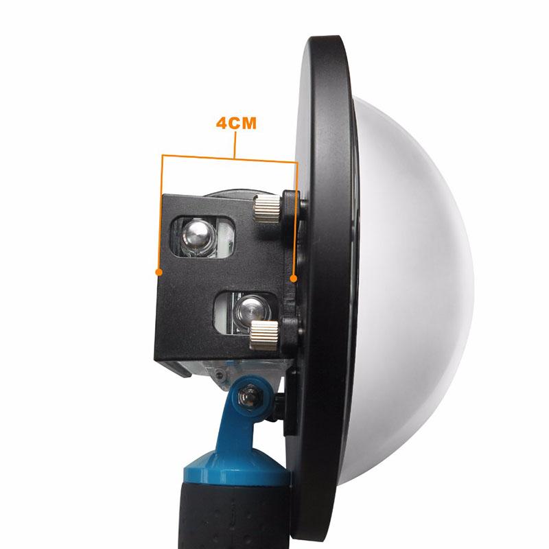 Dome - 6 Polegadas - GoPro Hero3, Hereo3+ e Hereo4 - BacPac - Shoot