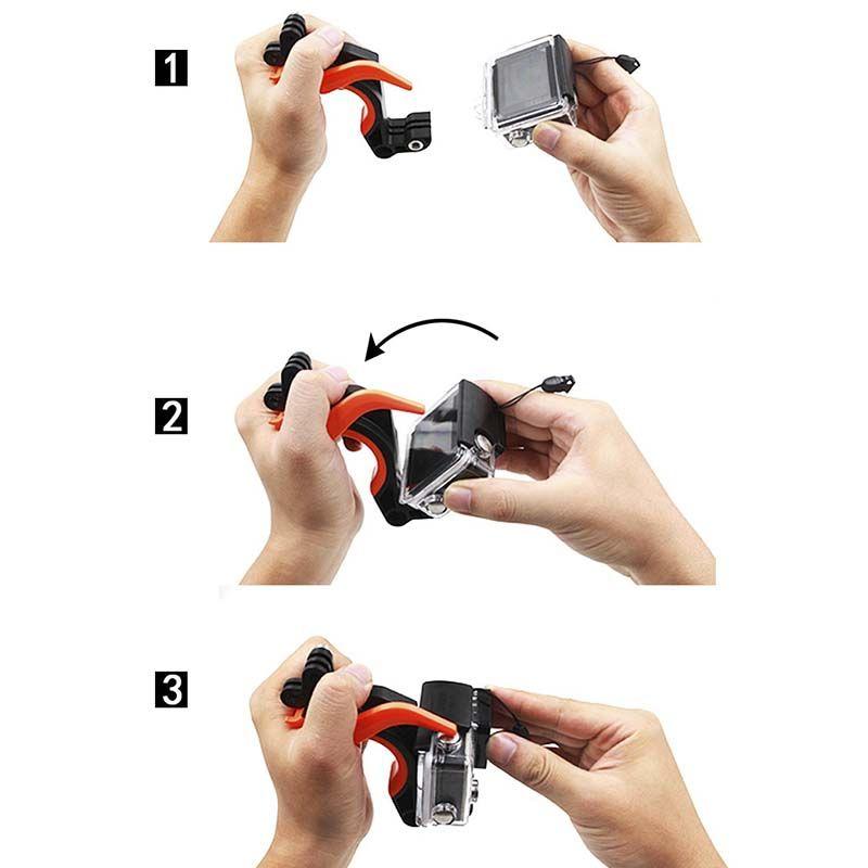 Dome - 6 Polegadas - GoPro Hero3, Hero3+ e Hero4 - Telesin