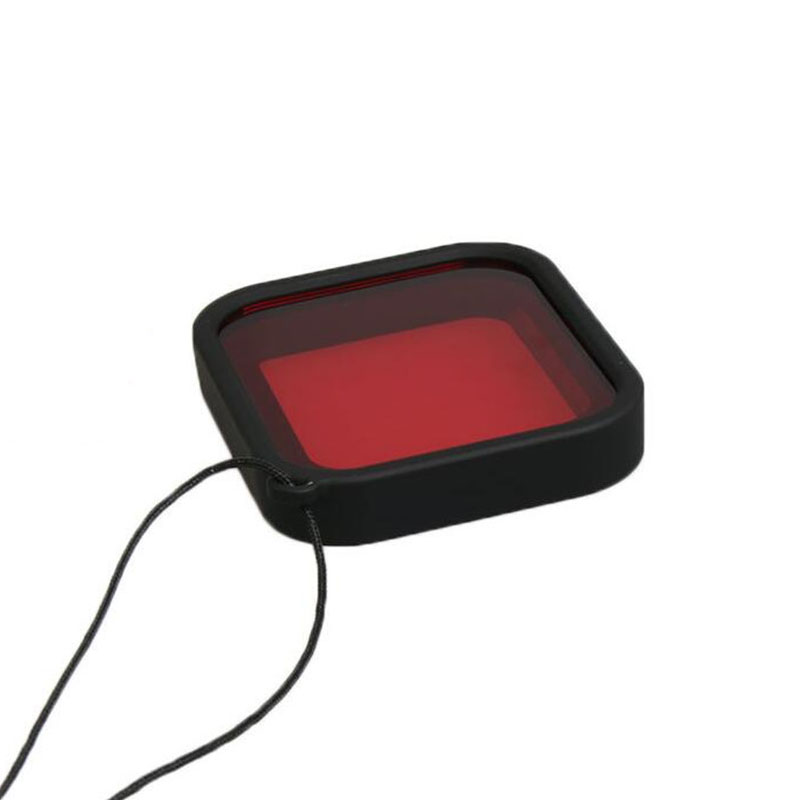 Filtro de Mergulho - Vermelho - GoPro Hero5, Hero6 e Hero7 Black - Telesin