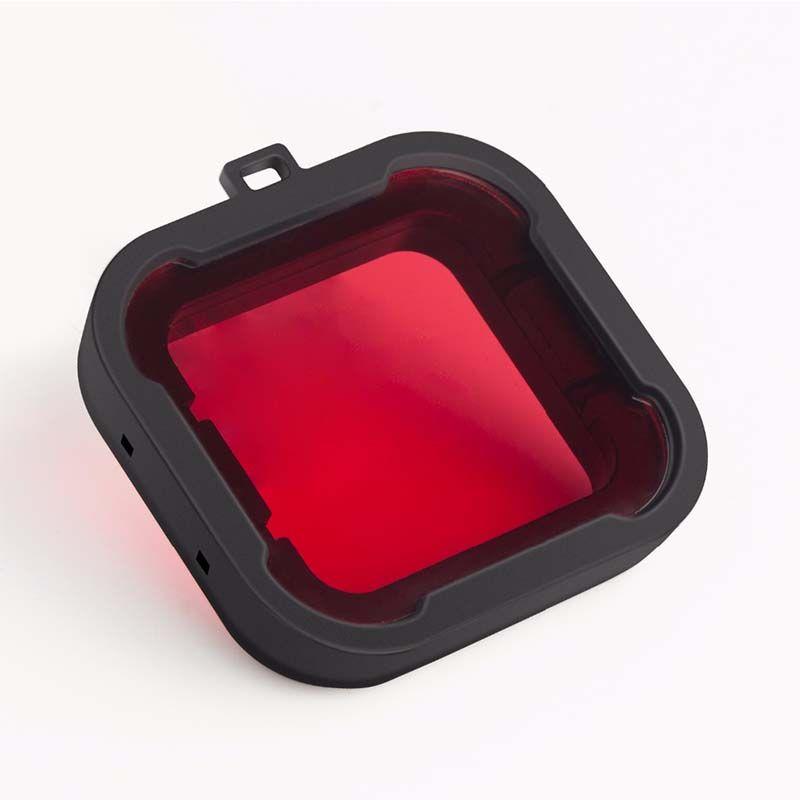 Filtro de Mergulho - Vermelho - SJCAM SJ6 Legend