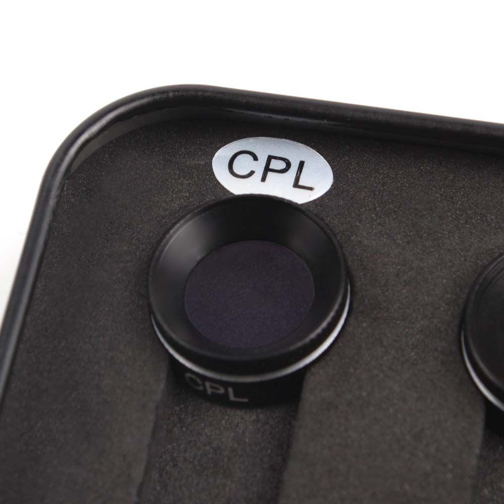 Filtros da Lente - MCUV CPL ND4 ND8 - Drone DJI Mavic Air