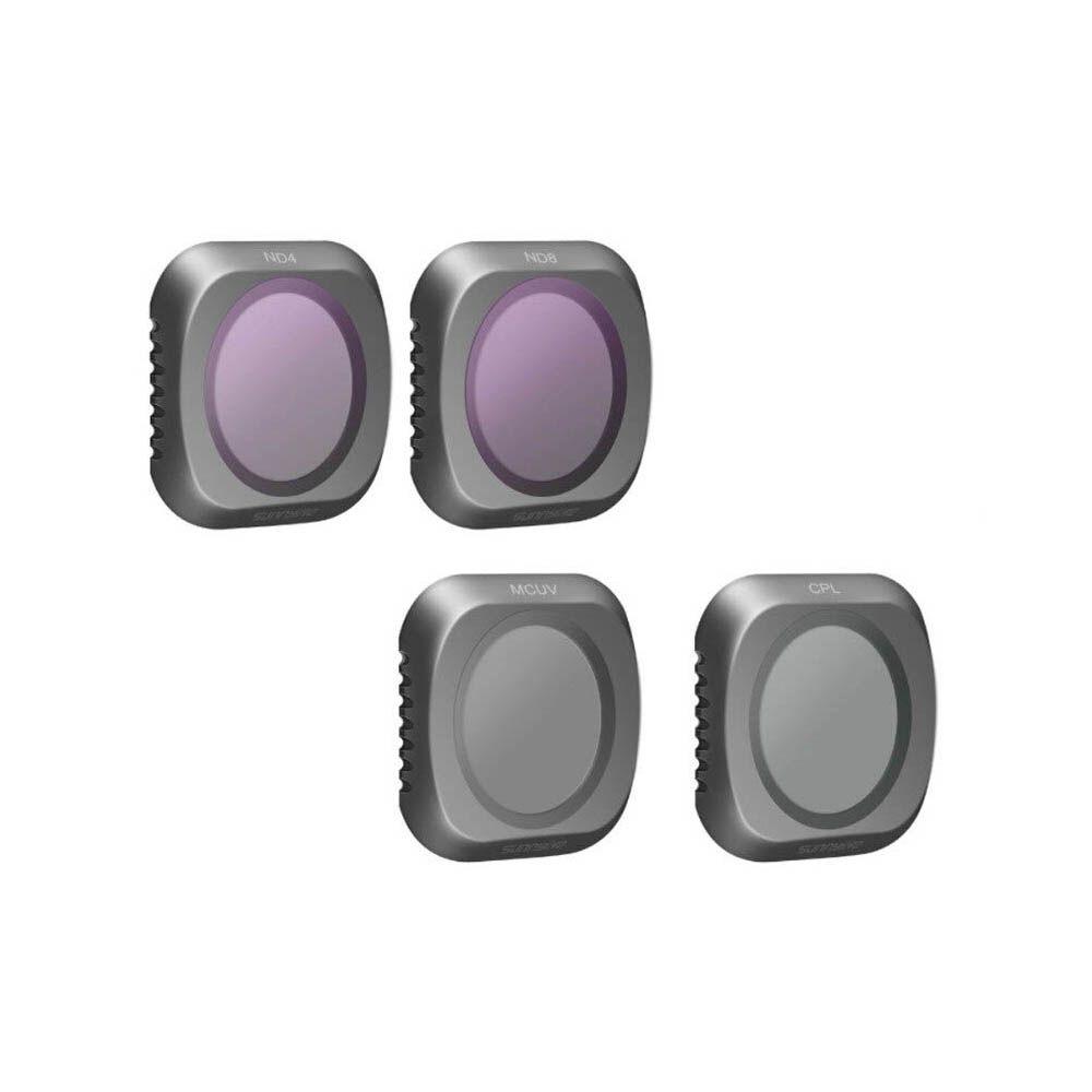 Filtros da Lente - ND4 ND8 MCUV CPL - Drone DJI Mavic 2 Pro
