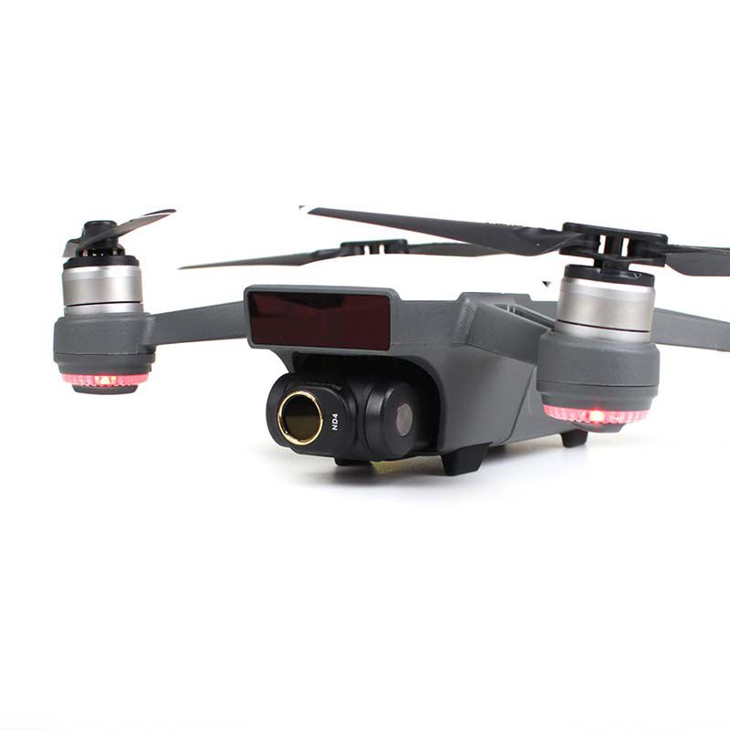 Filtros para Lente Drone DJI Spark - ND4 ND8 ND16 ND32