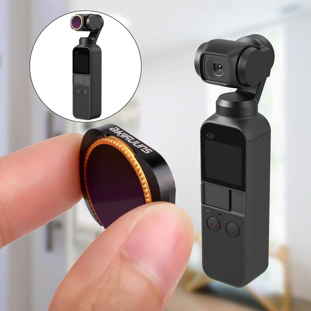 Filtros da Lente - ND4 ND8 ND16 - Osmo Pocket