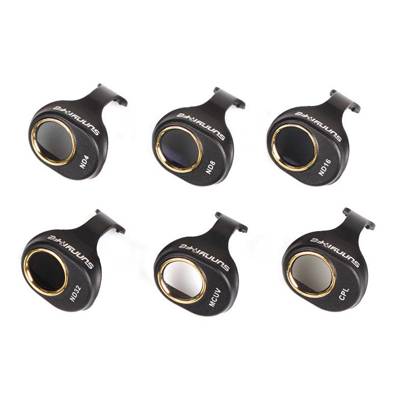 Filtros para Lente Drone DJI Spark - ND4 ND8 ND16 ND32 MCUV CPL