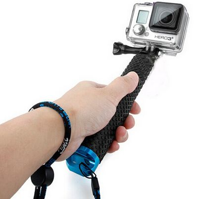 Kit com Bastão Flutuante - Pau de Selfie - GoPro SJCAM Yi Eken