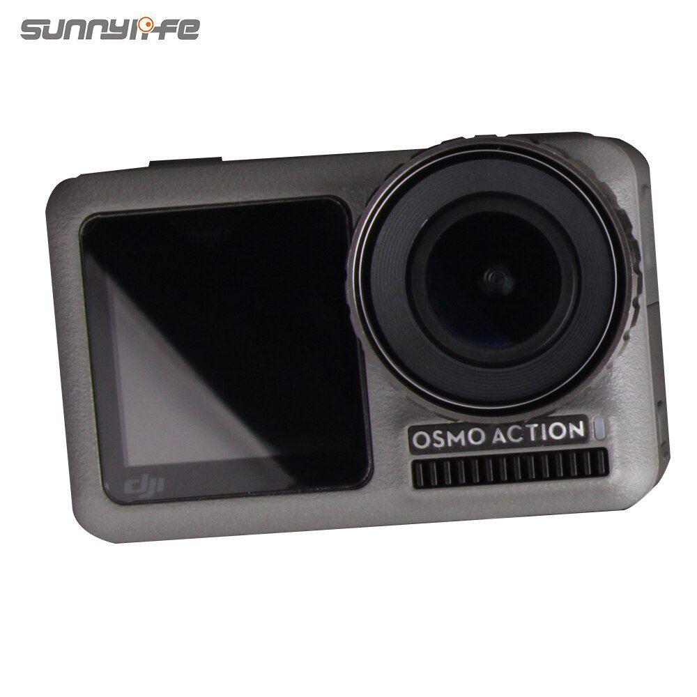 Película de Vidro - Tela de LCD, Lente e Visor Frontal - Osmo Action