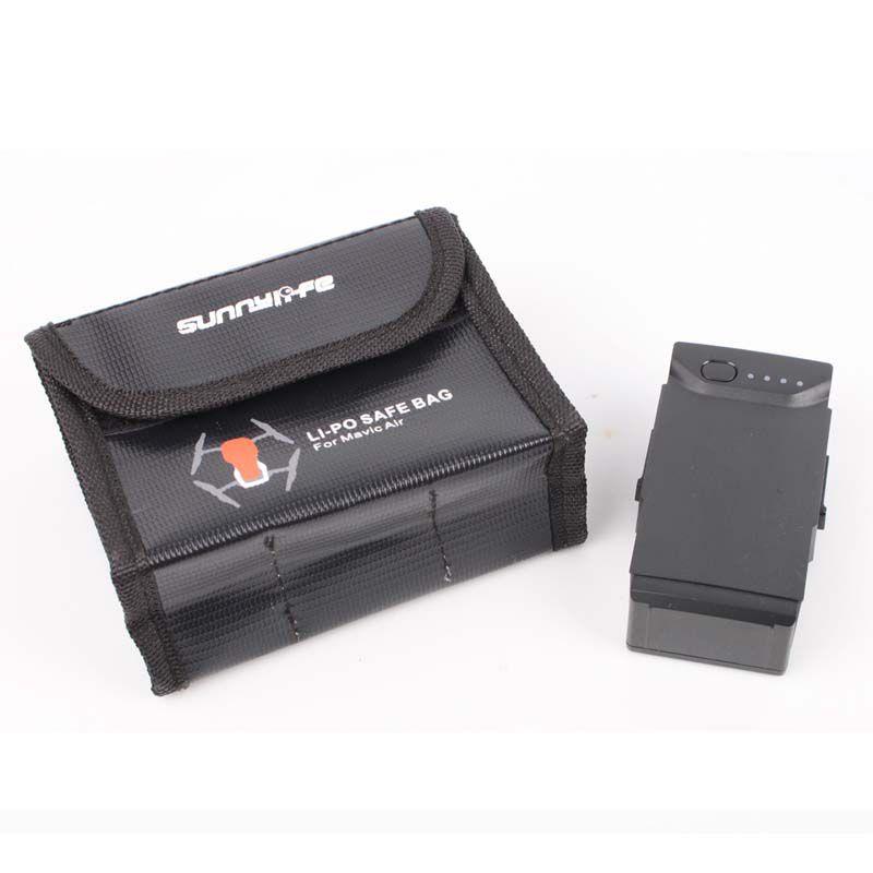 Saco Anti Chama e Explosão para Bateria - DJI Mavic Air - 3 Baterias