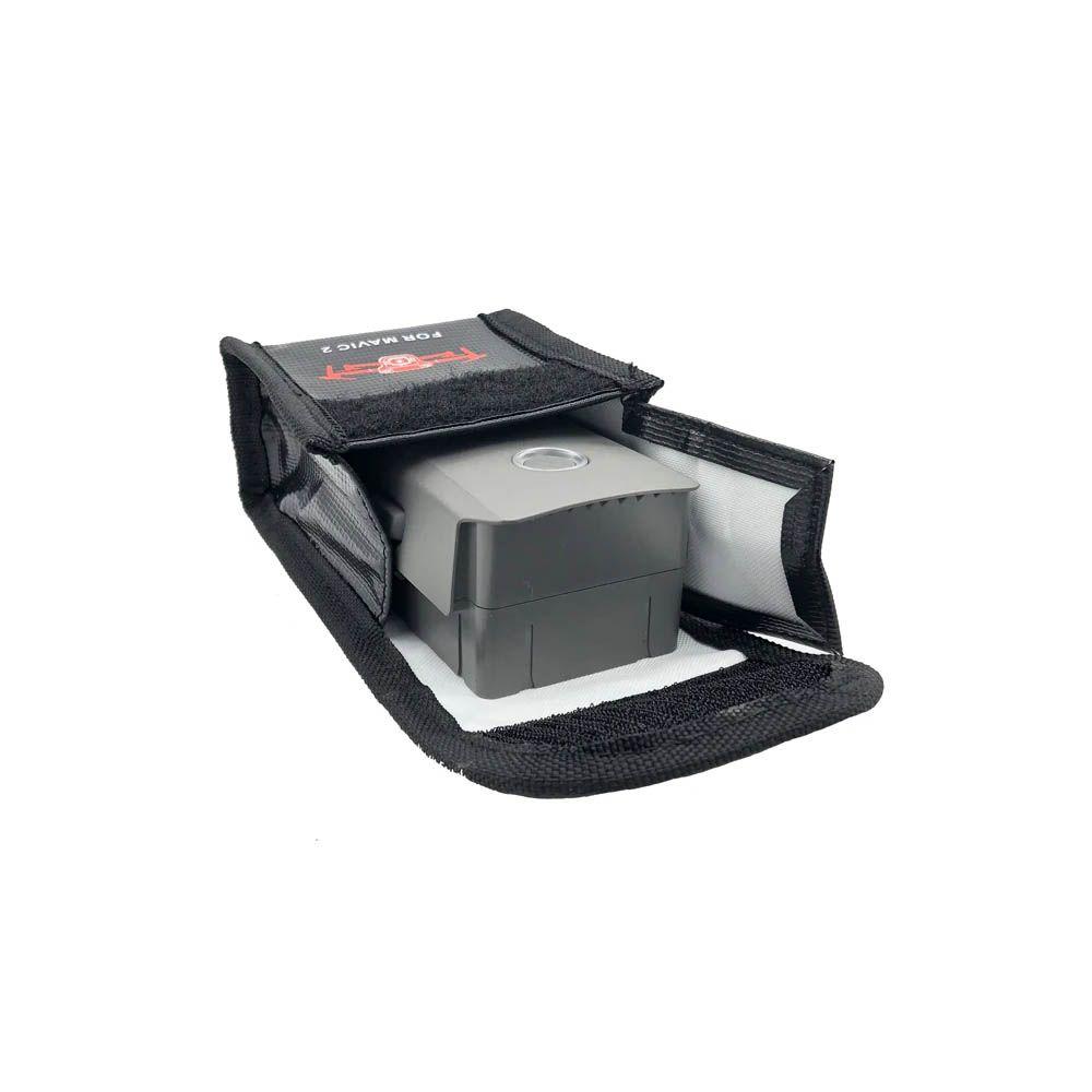 Saco Anti Chama e Explosão para Bateria - Drone DJI Mavic 2 - 1 Bateria