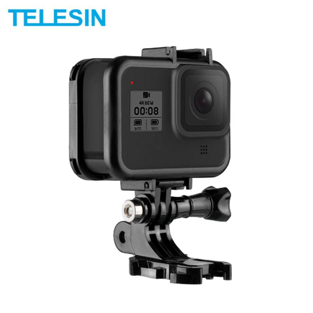 Suporte Armação Moldura Frame - GoPro Hero8 Black - Telesin