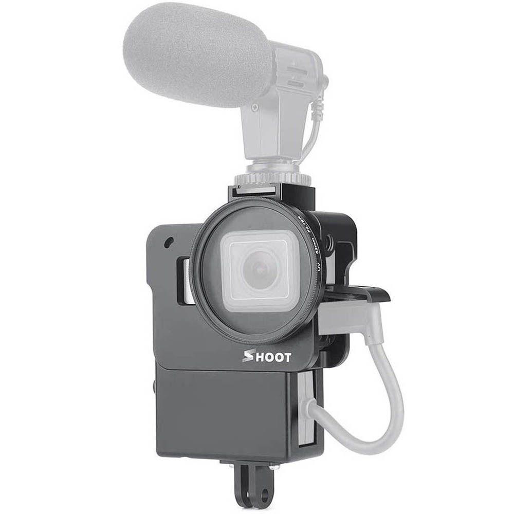 Suporte Armação Moldura Frame - Suporte Microfone - GoPro Hero5 Hero6 Hero7