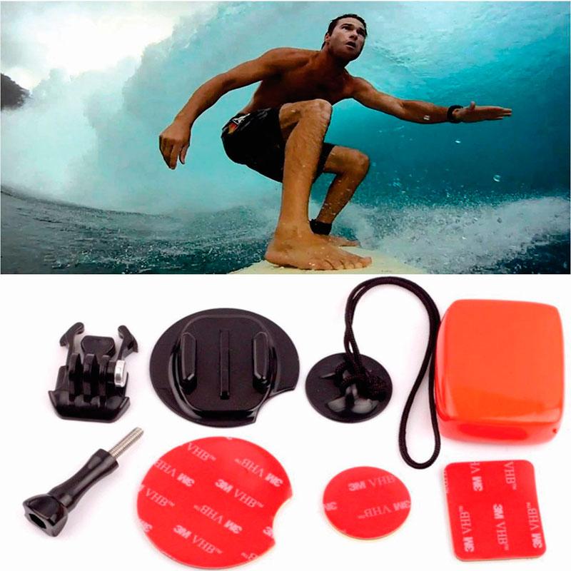Suporte para Prancha de Surfe - Surfboard - Preto - GoPro SJCAM Yi Eken