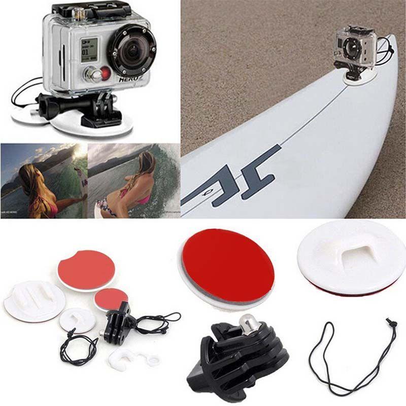 Suporte para Prancha de Surfe - Surfboard - Branco - GoPro SJCAM Yi Eken