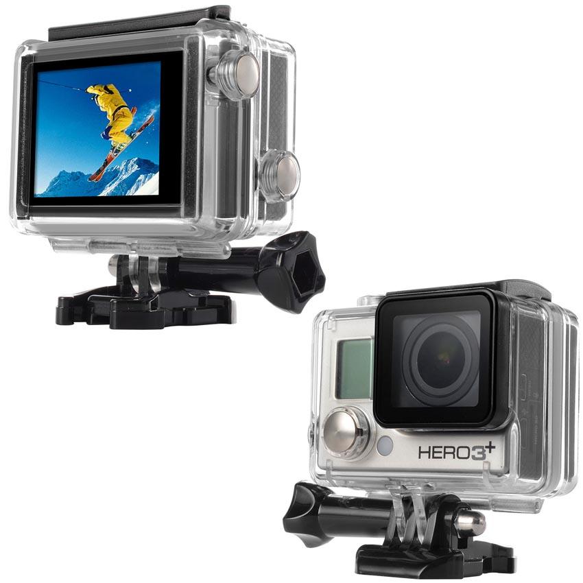Tampa Fechada - Bacpac - GoPro Hero3+ e Hero4 - Caixa de 40 metros