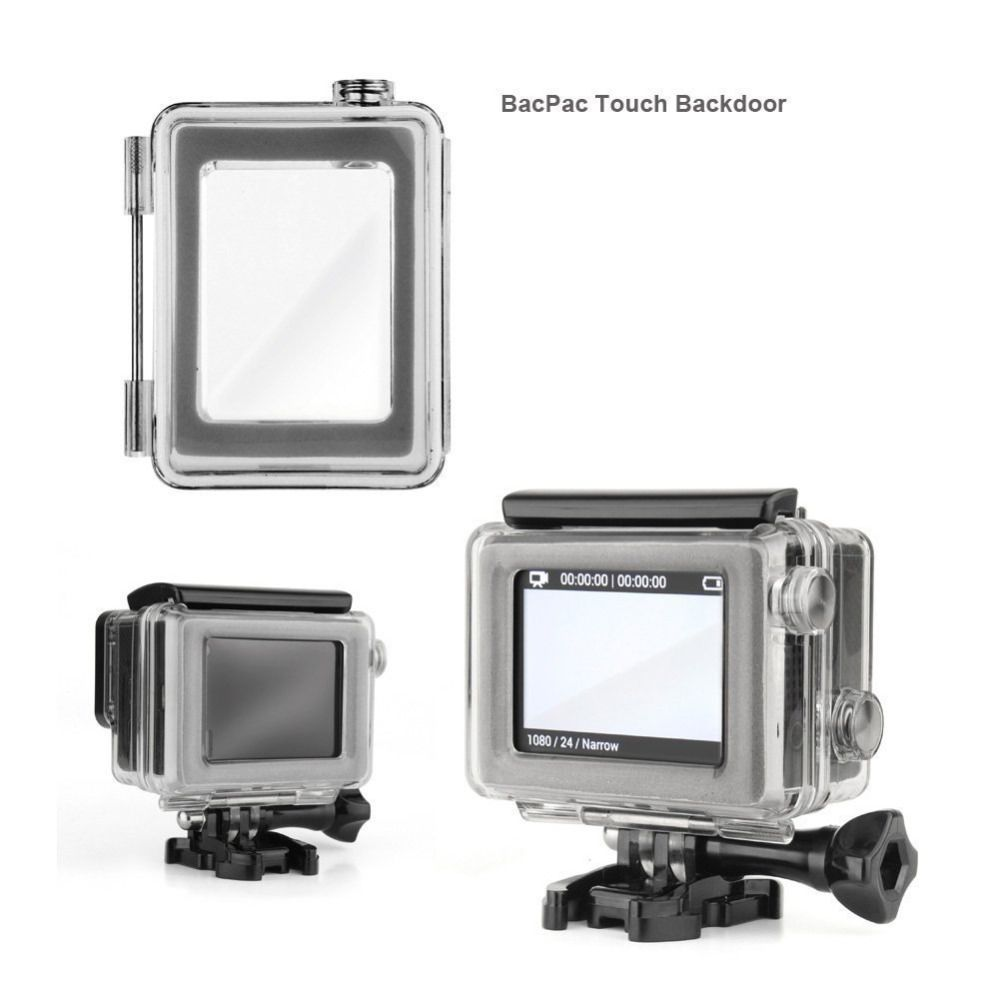 Tampa Fechada - Touch - BacPac - GoPro Hero3+ e Hero4 - Caixa de 40 metros