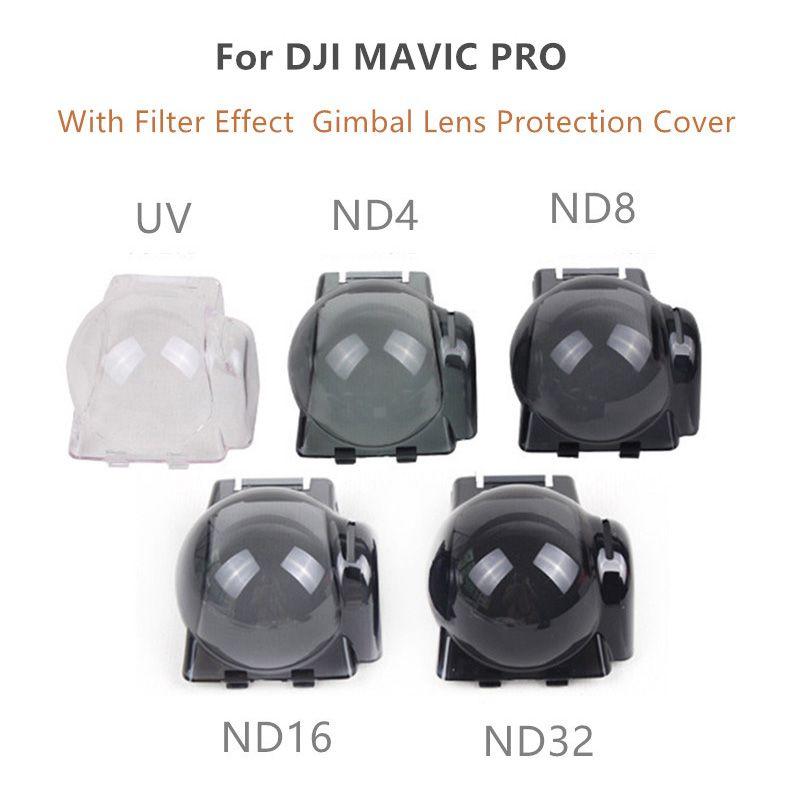 Tampa Protetora para Gimbal e Filtro ND4 ND8 ND16 ND32 - DJI Mavic Pro