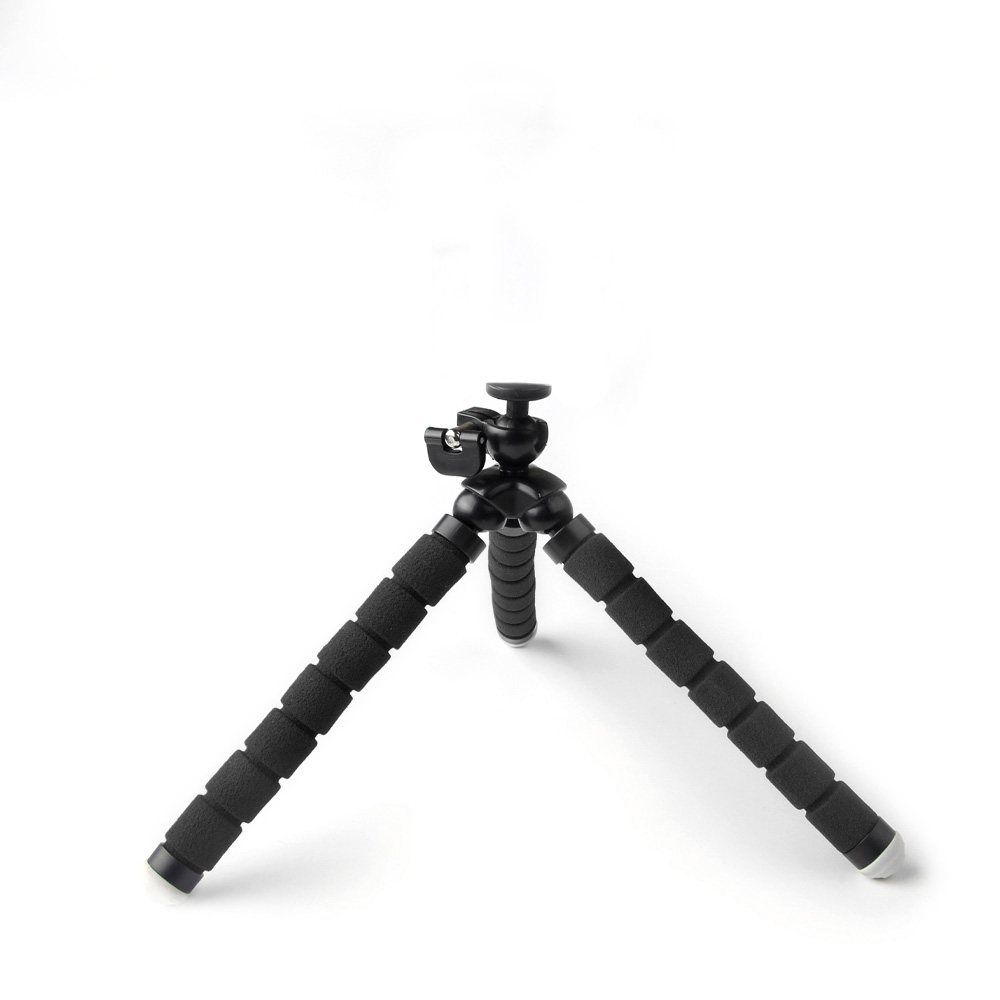 Tripé Flexível Esponja 17cm - Octopus Gorillapod - GoPro SJCAM Eken Xiaomi
