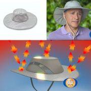 Chapeu Bone Protecao Solar Raios UV Impermeavel Antitermico Viagem