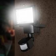 Refletor Solar Economica Segura 60 Leds Com Painel Solar Iluminacao