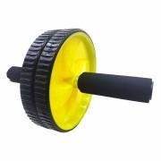 Rolo Roda Abdominal Exercicio Fisico Abdomem Musculo Braço Ombro Amarelo (BSL-JS002)