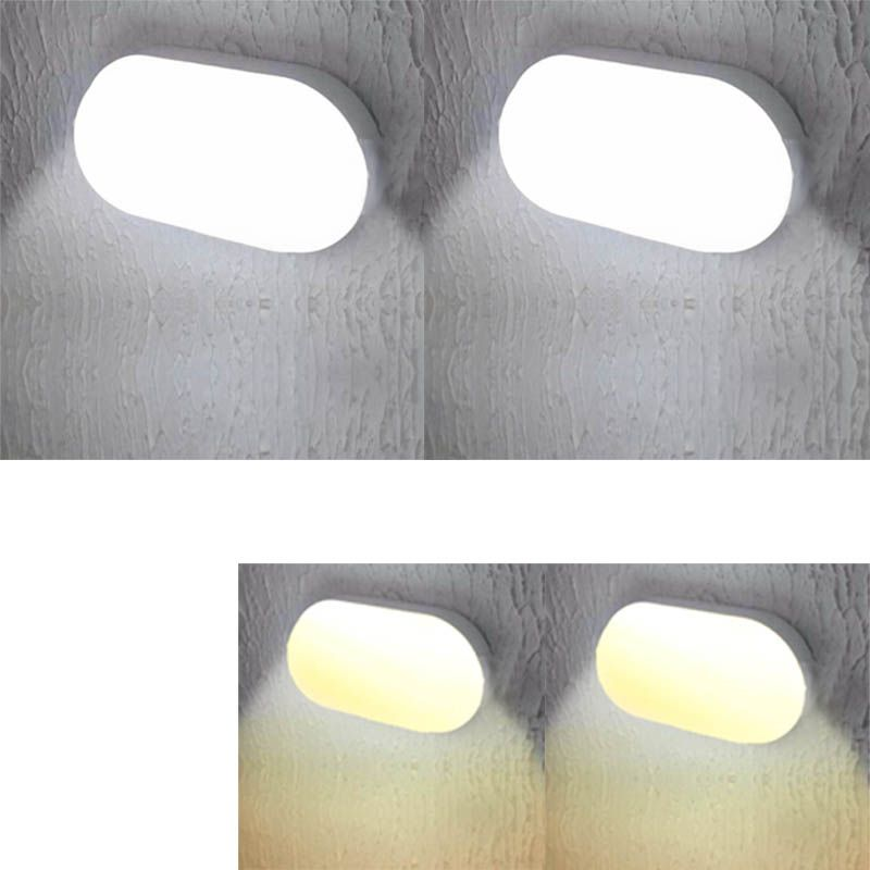 Arandela Kit 2 Luminarias Led 16w Tartaruga Sala Quarto Iluminacao (ZEM-31599-A/B)