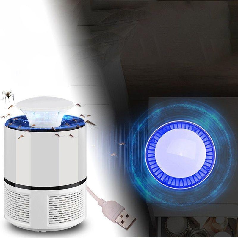 Armadilha Repelente Zika Dengue Eletrico Mosquiteiro UV LED Branco