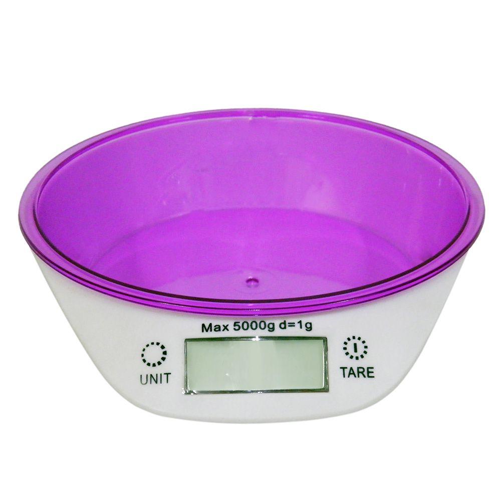 Balança Digital Peso 1g Ate 5kg Mede Volume Ml Gramas Kilos  Alta Precisao