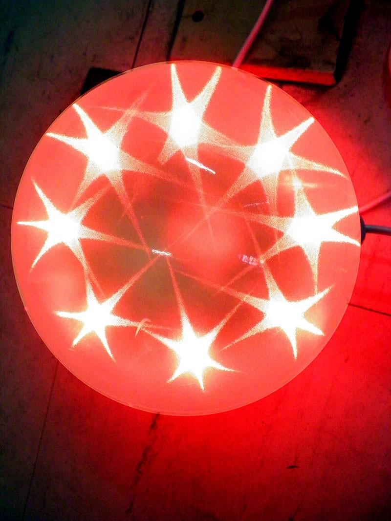 Bola De Natal Decorativa Com Led Pisca Pisca Enfeite Natalino Decoracao Luminosa (JA-80513)