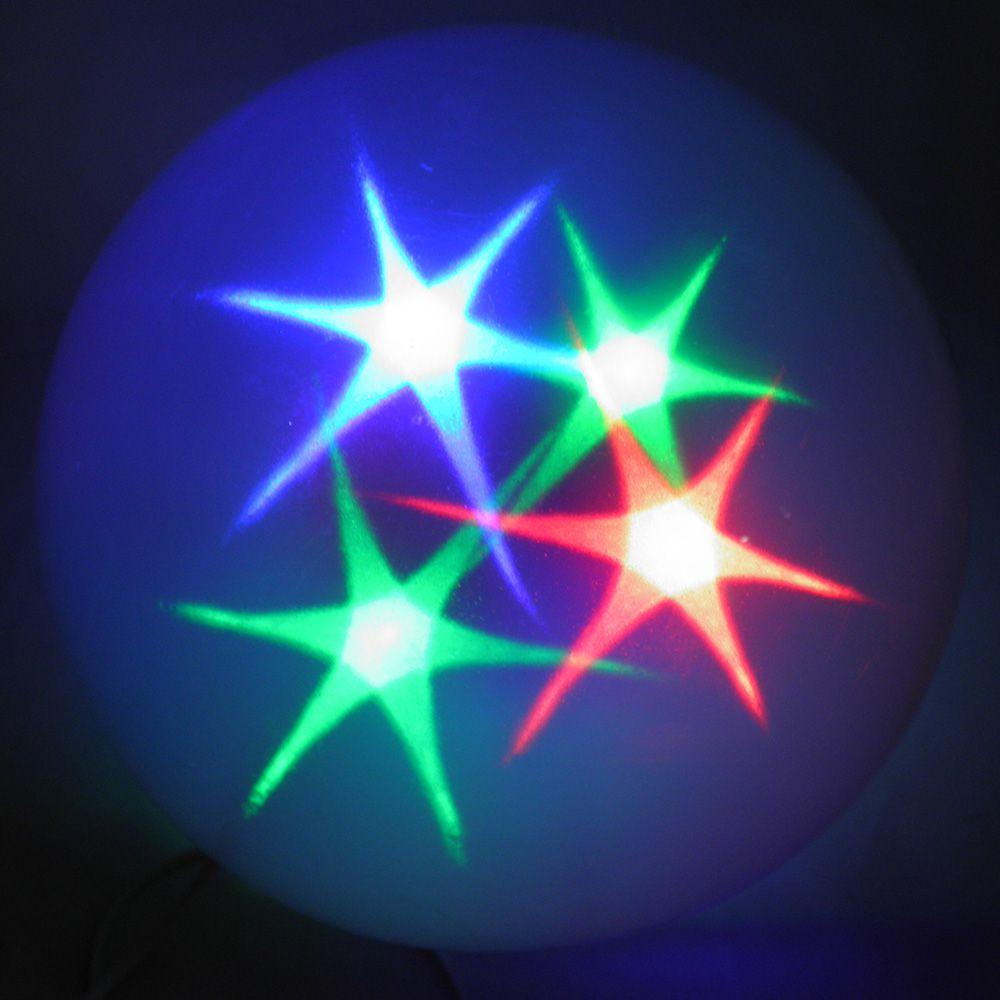 Bola De Natal Natalino Com Led RGB Pisca Pisca Decoracao Enfeite