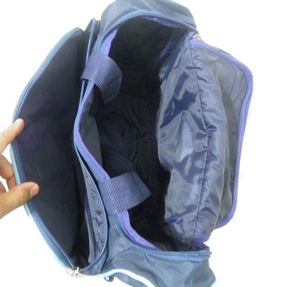 Bolsa Maternidade Azul Bebe Trocador Multi função Impermeavel
