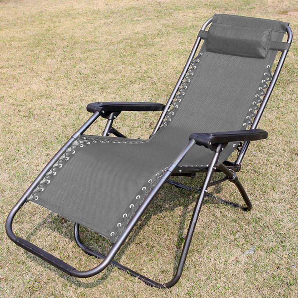 Cadeira de Camping Praia Espreguiçadeira Grande Varanda Confortavel Dobravel