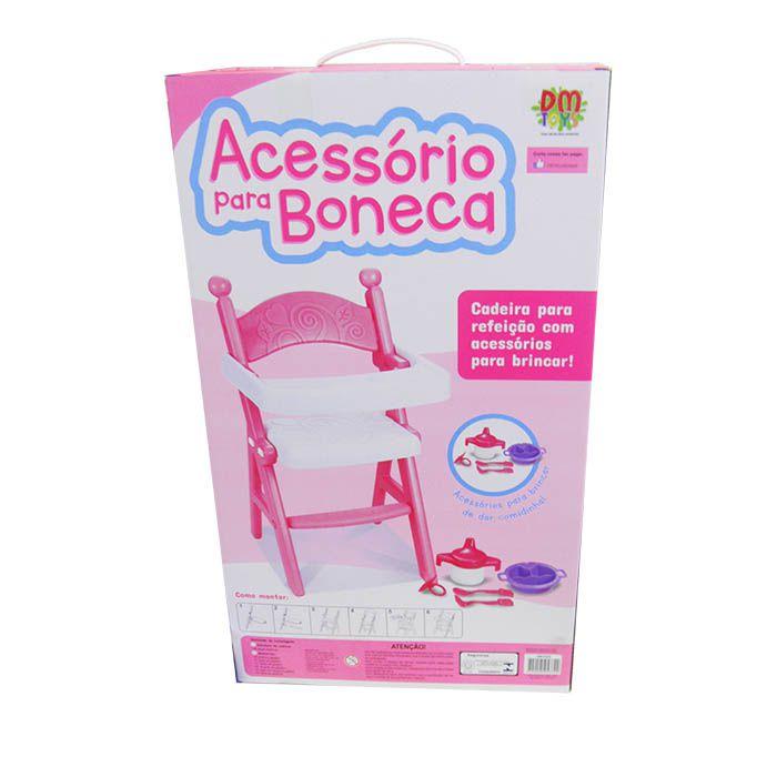 Cadeira Para Boneca Brinquedo Menina Acessorios Infantil Crianca (DMT5312)