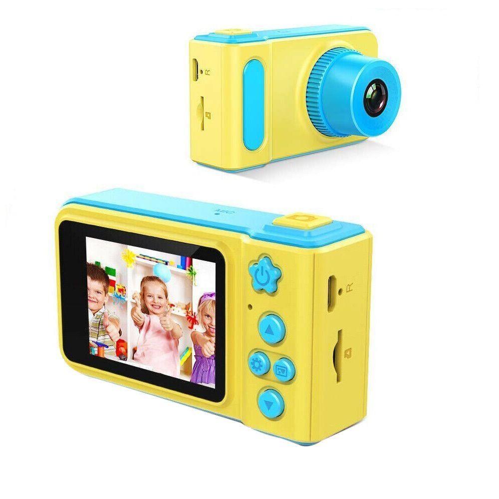 Camera Digital Criança Infantil Filmadora Kids Foto Tela LCD