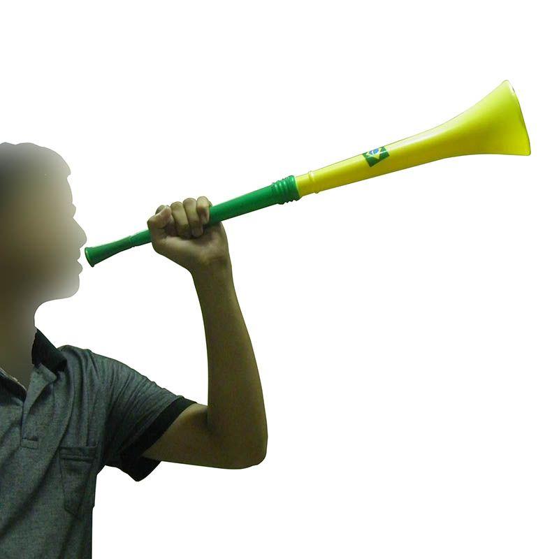 Corneta Vuvuzela Buzina Grande Torcedor Copa do Mundo Potente Brasil Kit 5  Unid (bsl-2014-19) - Ideal Importados 7c3880e1bdba8