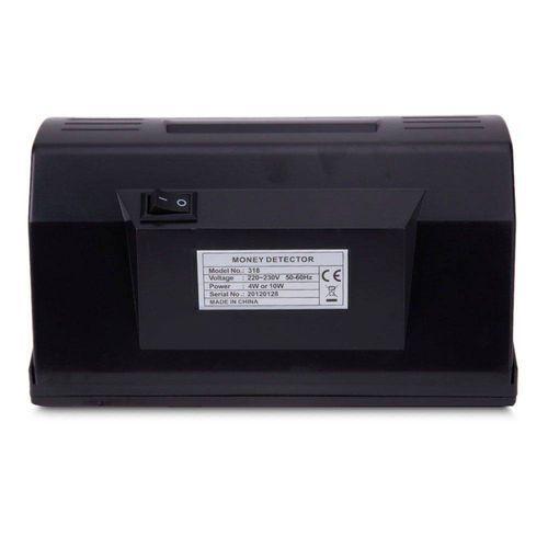 Detector Dinheiro Nota Falsa Luz Negra UV Identifica Cedula Fraude