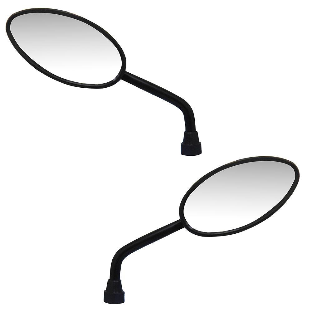 Espelho Par Retrovisor Moto Olho De Gato Serve em Todas Hondas