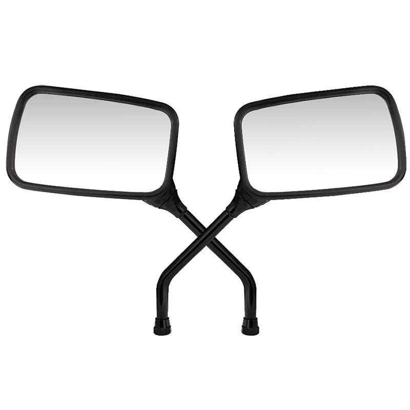 Espelho Par Retrovisor Moto Twister 12 mm Serve em Todas Hondas
