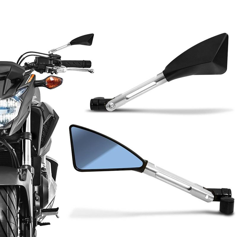 Espelho Retrovisor Moto Esportivo Estilo Rizoma Hornet cb300 xj6