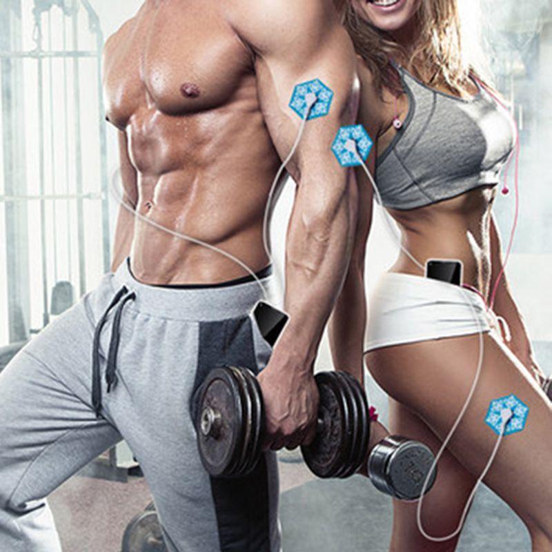 Estimulador corpo portátil muscular Massageador elétrico  tonificador celular relaxamento Alívio da dor