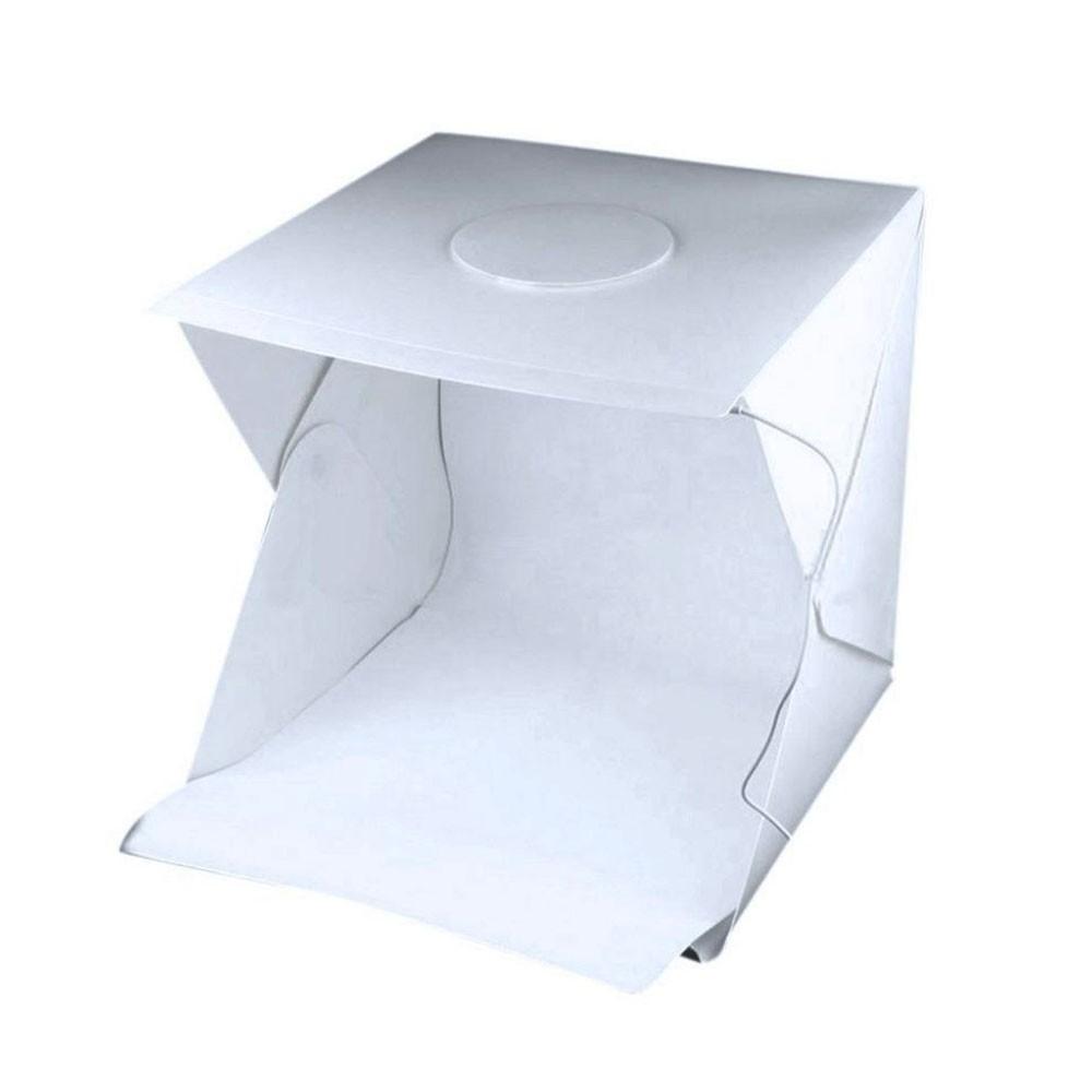 Estudio Fotografico Caixa de Foto LED Box Fotografia Produtos Portatil Youtuber Profissional Produtora