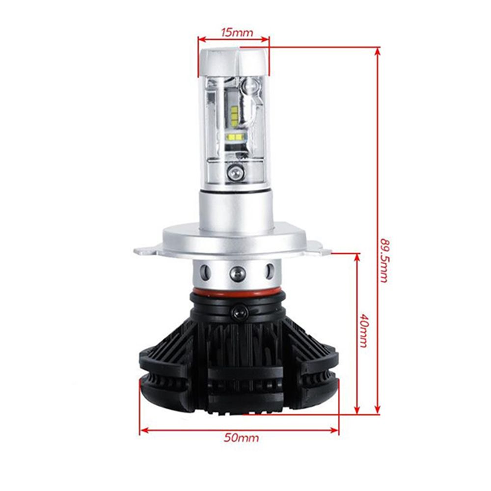 Kit Farol 3 Cores Led Lampadas Automotivo Carro Resistente Agua H7