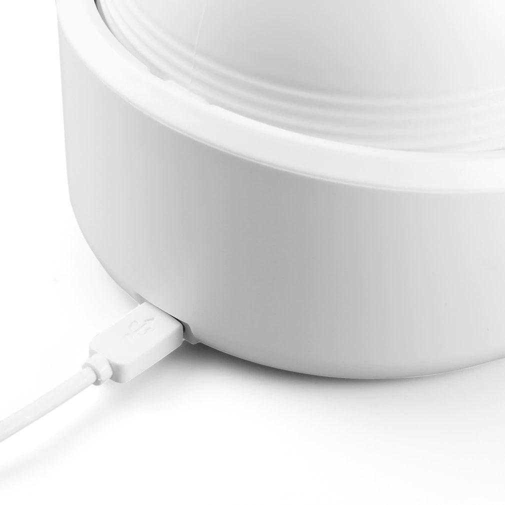 Massageador Cabeça Braço Pescoço USB Recarregavel Portatil Anti Estresse